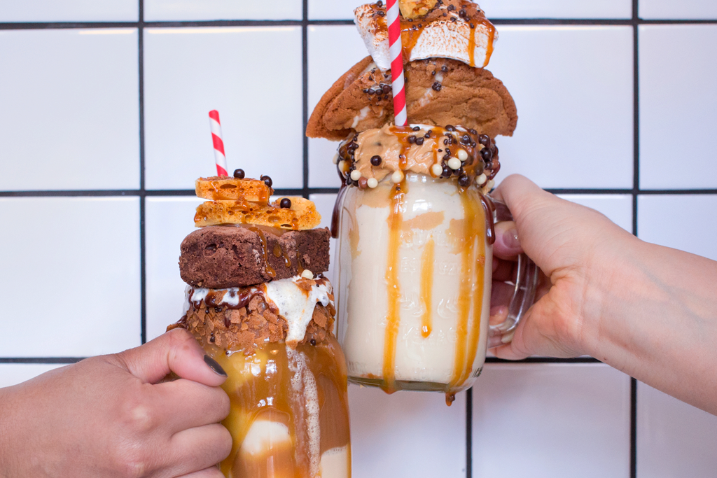 A couple of freakshakes