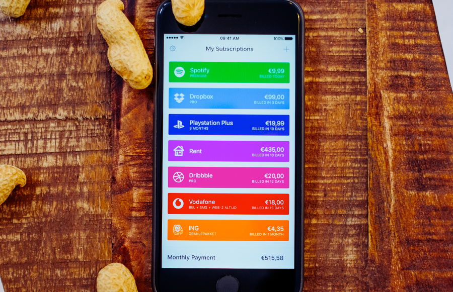 .billy lets you track your subscriptions and bills in a simple app