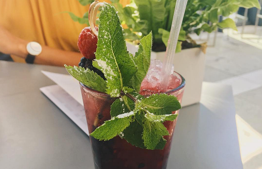 We highly recommend the Berry Mojito!