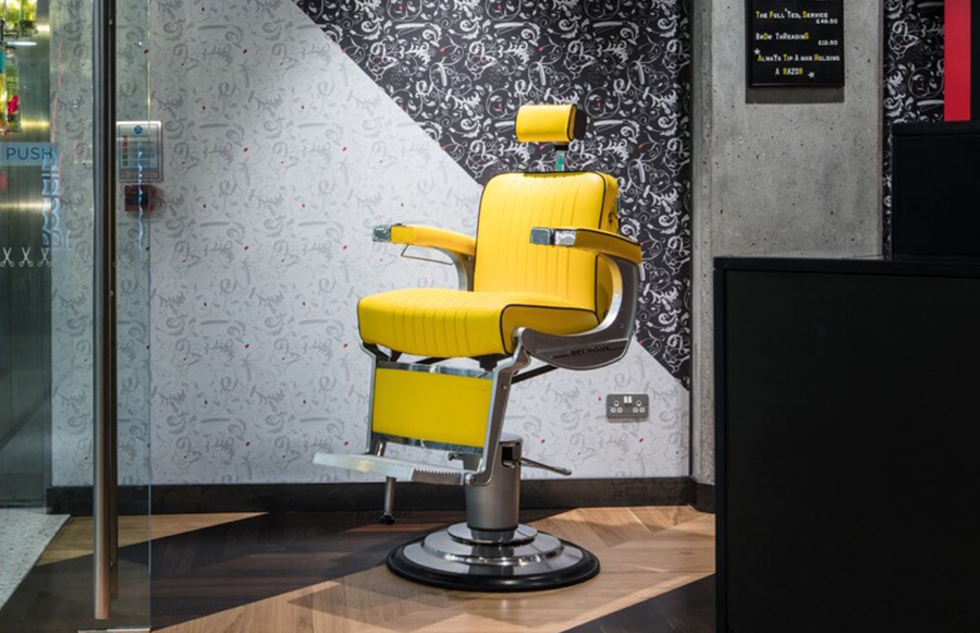 Tweet To Book At Ted Bakers Grooming Room In Canary Wharf Urban