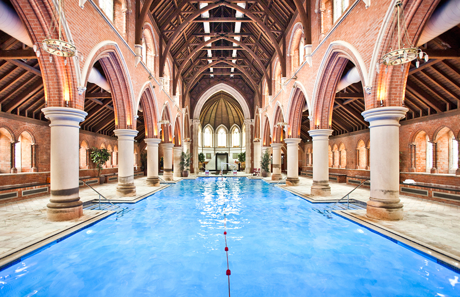 Have You Visited This London Church Which Is Now A Swimming Pool And Sauna Urban Intention